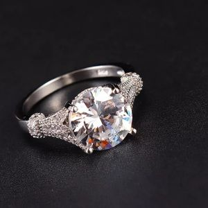 Jewelry - 925 sterling Simulated Diamond Engagement Ring